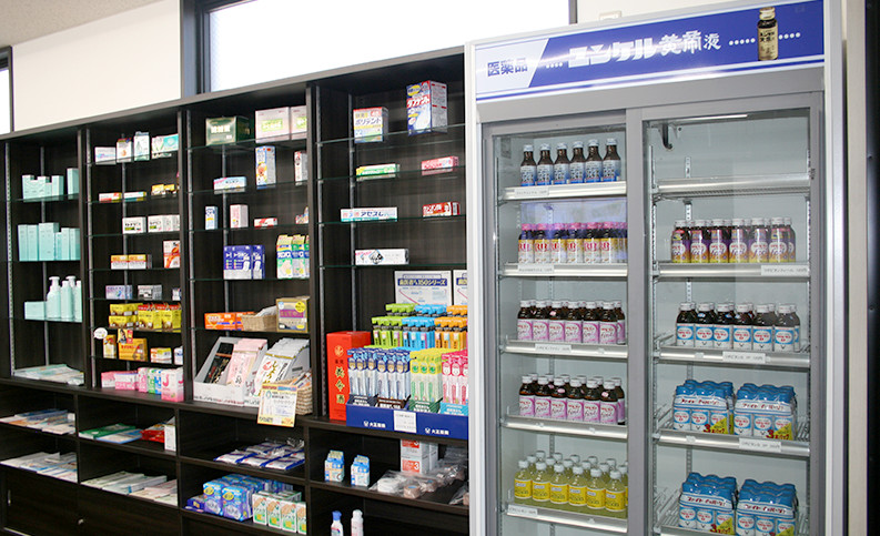 一般医薬品棚